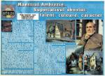 NICOLAE AMBROZIE in revista Ultima ora nr.34 27 aug-2 sept 1999 fascicola Arte 26