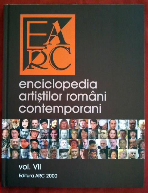 Coperta Enciclopediei artistilor romani contemporani Ed. ARC2000 vol.VII 2012