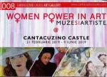 "Coperta Catalog expozitie ""Woman Power in Art"" de la Castelul Cantacuzino Busteni"